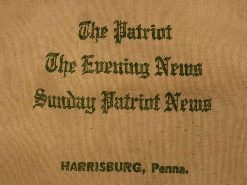 商品紹介 sunday patriot news mini paper bag suntrap vintage